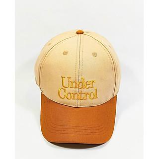 Nón kết/ Mũ lưỡi trai mix màu Under Control NON0253KN