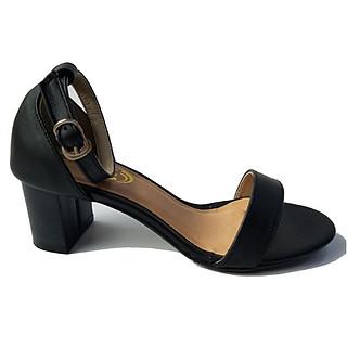 Giày Sandal Cao Gót BIGGBEN Da Bò Thật SDCG56