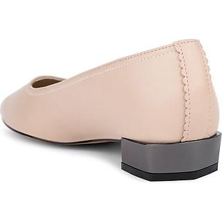 Giày cao gót mũi nhọn gót vuông mạ ánh bạc - Sablanca 5050BN0125