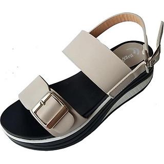 Giày Sandal Nữ Đế Xuồng BIGGBEN Cao Cấp SDCG18