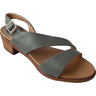 Giày Sandal Cao Gót BIGGBEN Da Bò Thật SDCG42
