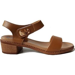 Giày Sandal Cao Gót BIGGBEN Da Bò Thật SDCG44