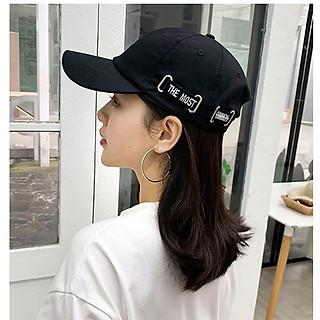 Mũ nam nữ mũ lưỡi trai xuân hè nón kết phong cách Hàn Quốc cách điệu thêu chữ The most bên hông nhiều màu freesize - Smice House