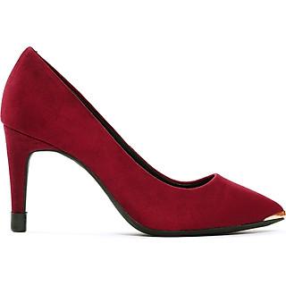 Giày  cao gót nữ , chiều cao gót 7CM, da lộn cao cấp êm ái, bền chắc và thời trang. Mũi nhọn, gót nhọn  vững trãi bọc da lộn đồng màu sang trọng và chắc chắn, thiết kế hiện đại, tinh tế, thời trang: BL.P3043.7F