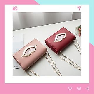 Túi đeo chéo nữ khóa môi cá tính Mozu TX04 thời trang giá rẻ