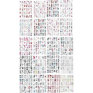 2500 Hình Xăm (600 Tờ) Xắm Dán Nước Tatoo Nhiều Mẫu Bướm Hoa Lá Kí Tự Cá Tính Nam Nữ Unisex