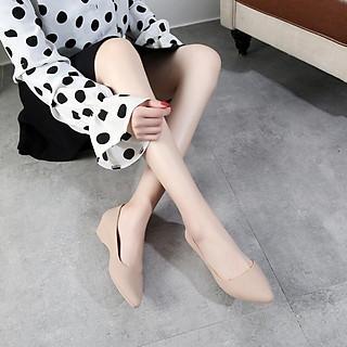 Giày Búp Bê Nữ Đế Bệt Nhựa Dẻo Êm Ái G01