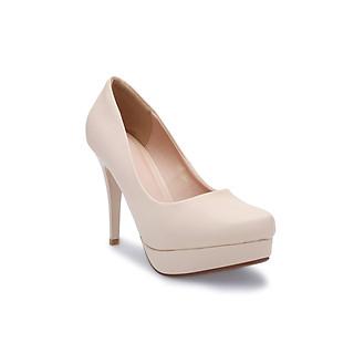 Giày cao gót nữ, giày công sở mũi đúp, gót nhọn cao 11cm PABNO -BH 12 Tháng- PN412