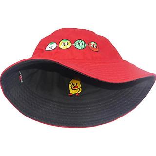 Mũ bucket tai bèo Con vịt & Trái cây đội được 2 mặt độc đáo thời trang phong cách mới