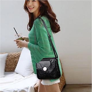 Túi đeo chéo công sở da mềm Hàn quốc