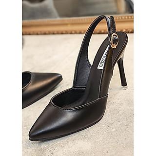 Giày cao gót bít mũi có quai hậu đi lại thuận lợi cho nàng khoe chân dài 96106