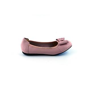 Giày búp bê nơ gút siêu xinh da mền, êm chân da thật 100% PABNO PN19007