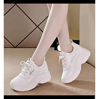Giày thể thao nữ độn đế 7p,đi gọn chân,tôn dáng