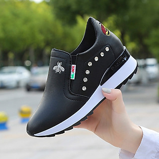 Giày thể thao độn đế phong cách Hàn Quốc cho nữ - SB117