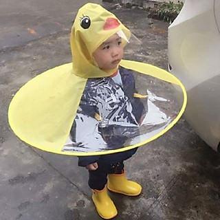 Áo mưa vịt vàng cho bé