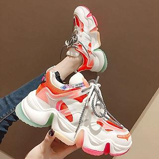 Giầy nữ, giầy thể thao độn đế lót hơi 3 màu mới