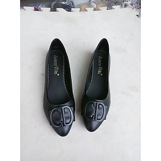 giày búp bê nữ cao 2 phân mũi nhọn