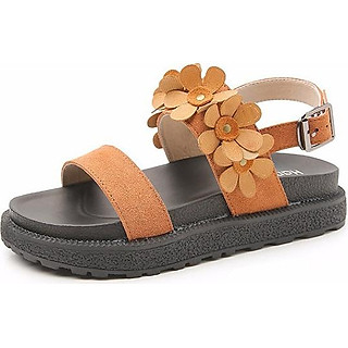 Sandal Nữ Quai Hoa Dễ Thương