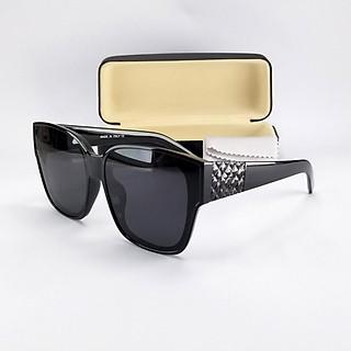 Mắt kính nữ thời trang DKY210D. Tròng đen chống nắng, chống tia UV, gọng bản rộng ôm sát mặt