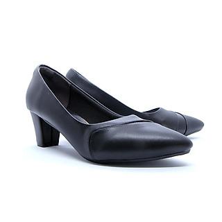 Giày Cao Gót Cao Cấp GMIC Kiểu Dáng Công Sở | Giày Cao Gót Cao 5 P Đế Vuông Chất Lượng NH665