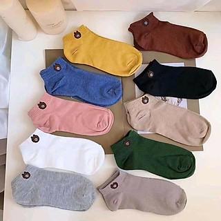 Túi đeo chéo nữ CHONGYA vải canvas dây rút lạ mắt cực xinh -Tặng kèm 01 đôi tất gấu