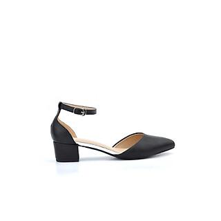 Giày sandal nữ basic mũi nhọn cao 4cm thương hiệu PABNO PN416