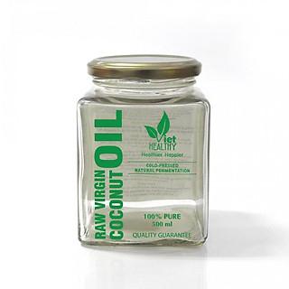 Dầu dừa Nguyên chất Viet Healthy lọ (500ml)