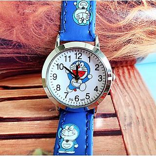 Đồng hồ hình dorremon cho bé trai bé gái