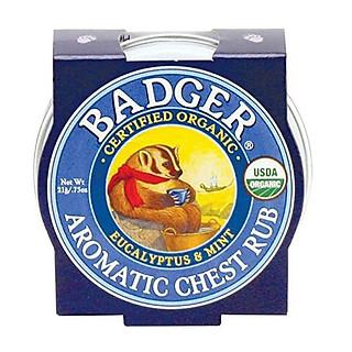 Sáp Hữu Cơ Bôi Ngực Badger Aromatic Chest Rub