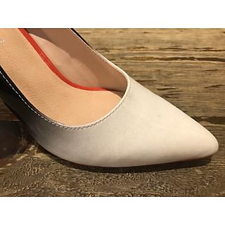 8948-giày mũi nhọn cao gót đế đỏ
