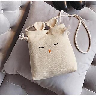 Túi Đeo Chéo Tai Thỏ Mini Cute Dễ Thương