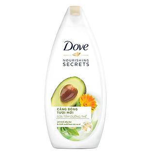 Sữa Tắm Dove Căng Bóng Tươi Mới - Bơ 120G