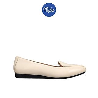 Giày búp bê nữ da thật mũi vuông Misho 1225