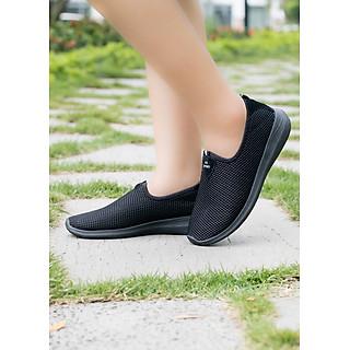 Giày Nữ Anh Khoa A913-11 - Vải Lưới Có Lớp Lót Cotton Thoáng Mát