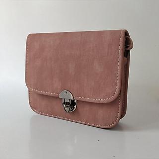 Túi đeo chéo nữ nhỏ nhắn, kiểu dáng Hàn Quốc, dễ thương (Nhiều màu để chọn)