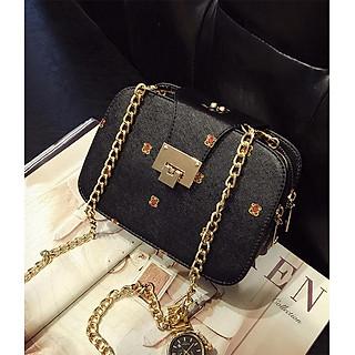 Túi xách đeo vai đeo chéo nữ 3 ngăn Rachel RC-977 model 2019 sang trọng đựng tiền điện thoại mỹ phẩm