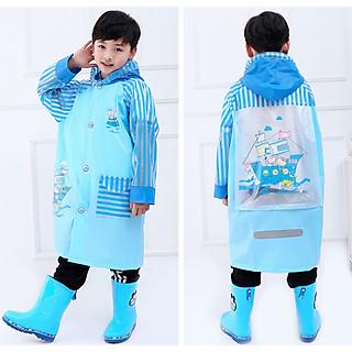 Áo mưa trẻ em cao cấp hình thú đáng yêu cho bé 4-10 tuổi – AM005