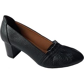 Giày Cao Gót Nữ Công Sở Da Bò BIGGBEN GCG3