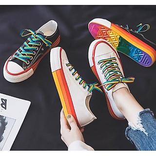 Giày nữ thể thao sneaker phối màu xinh xắn TT3