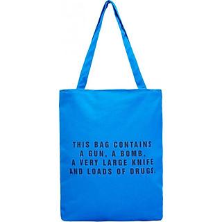 Túi Vải Đeo Vai Tote Bag This Bag Xanh