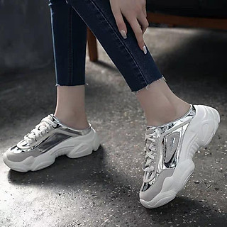 Sục thể thao nữ,giầy thể thao dáng sục, độn đế 3p,êm chân