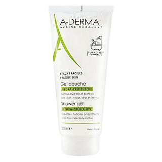 Gel Rửa Mặt và Tắm Cho Da Đang Bị Kích Ứng A-Derma Shower Gel Hydra-Protective (200ml)