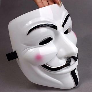 Mặt nạ hacker - Anonymous Mặt Nạ hóa trang Halloween