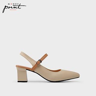 Giày nữ Cao gót quai hậu Monde Point MPWS06333