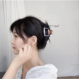 Kẹp Tóc Càng Cua Vuông Hàn Quốc Dễ Thương Siêu Xinh KT17