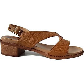 Giày Sandal Nữ Cao Gót BIGGBEN Da Bò Thật SDCG41