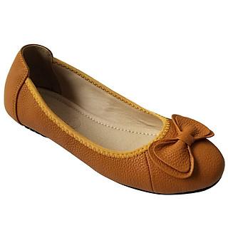 Giày búp bê nữ BIGGBEN da bò cao cấp BB88