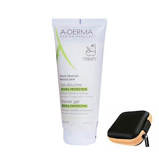 A-Derma Hydra Protective Shower Gel: Gel tắm gội dịu nhẹ (200ml)