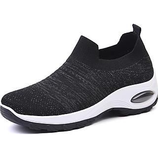 Giày thể thao sneaker vải chun tuyệt đẹp cho nữ - SB101