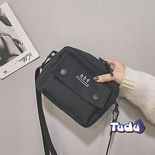 Túi Đeo Chéo Nữ Túi Đựng Điện Thoại Vải Canvas Dễ Thương Phong Cách Thời Trang Hàn Quốc Mẫu Hot 2021 CN223